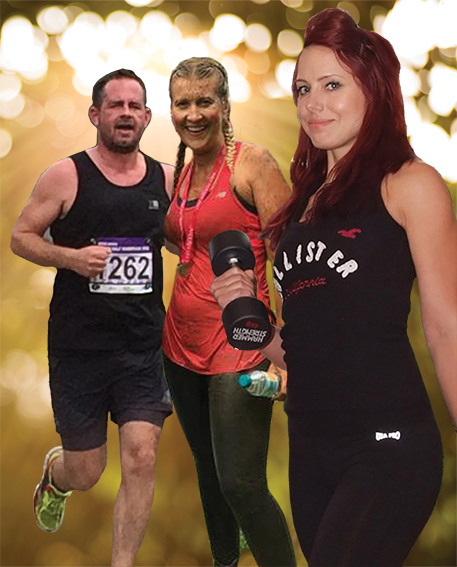 Newsquest staff Adam Thorpe, Sarah Sanderson and Victoria Birch will be taking part in the Tough Mudder in aid of Noah's Ark Children's Hospice on July 7