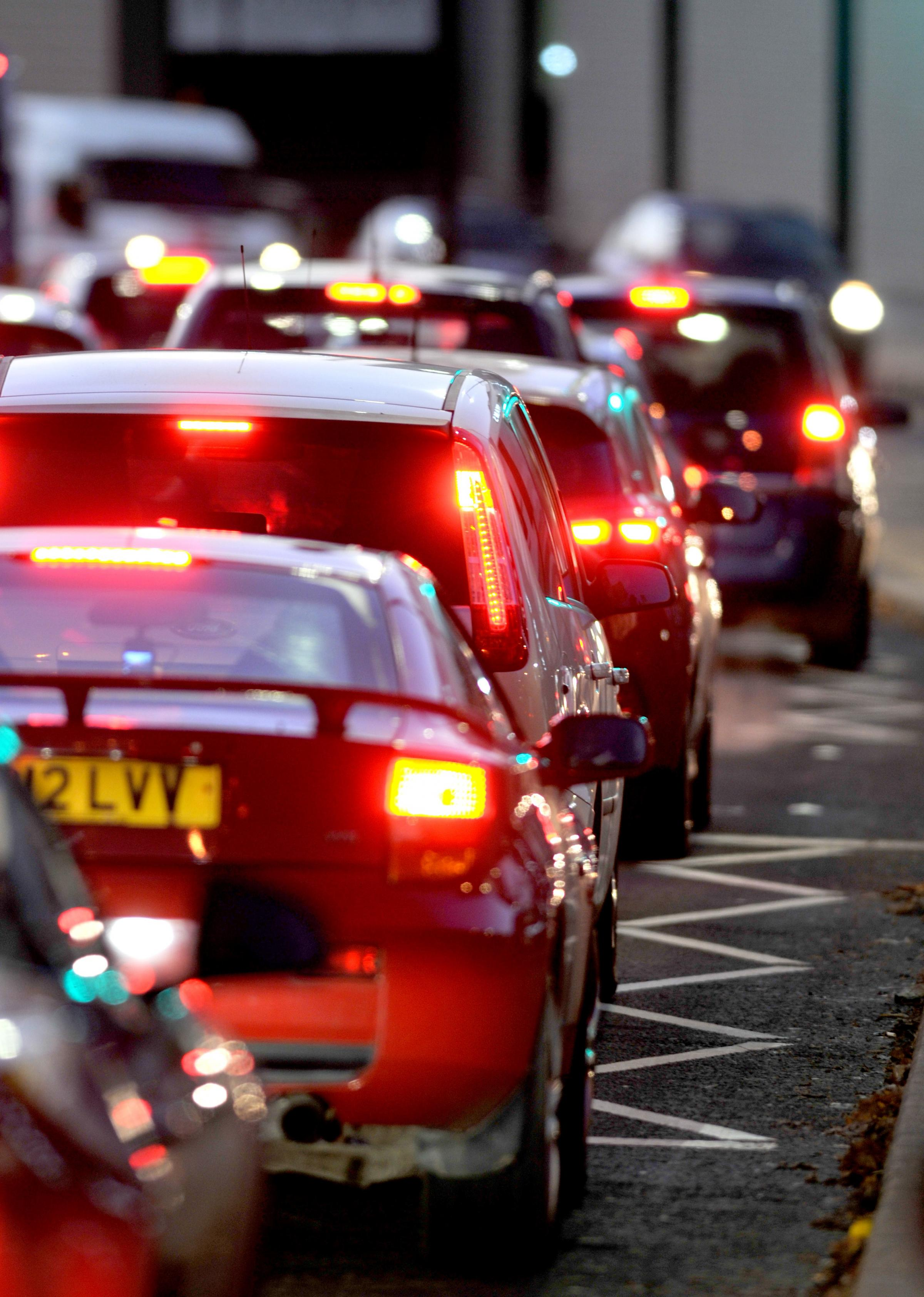 Evening update: Avoid these queues on the A41 and A1 on your journey home tonight
