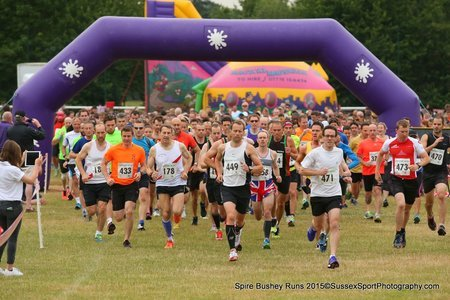 Spire Bushey 10k, 5k And Junior Races