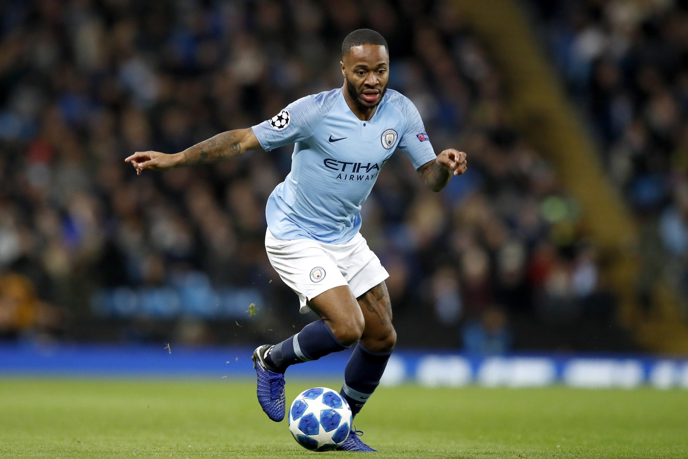 Manchester City's Raheem Sterling. (PA)