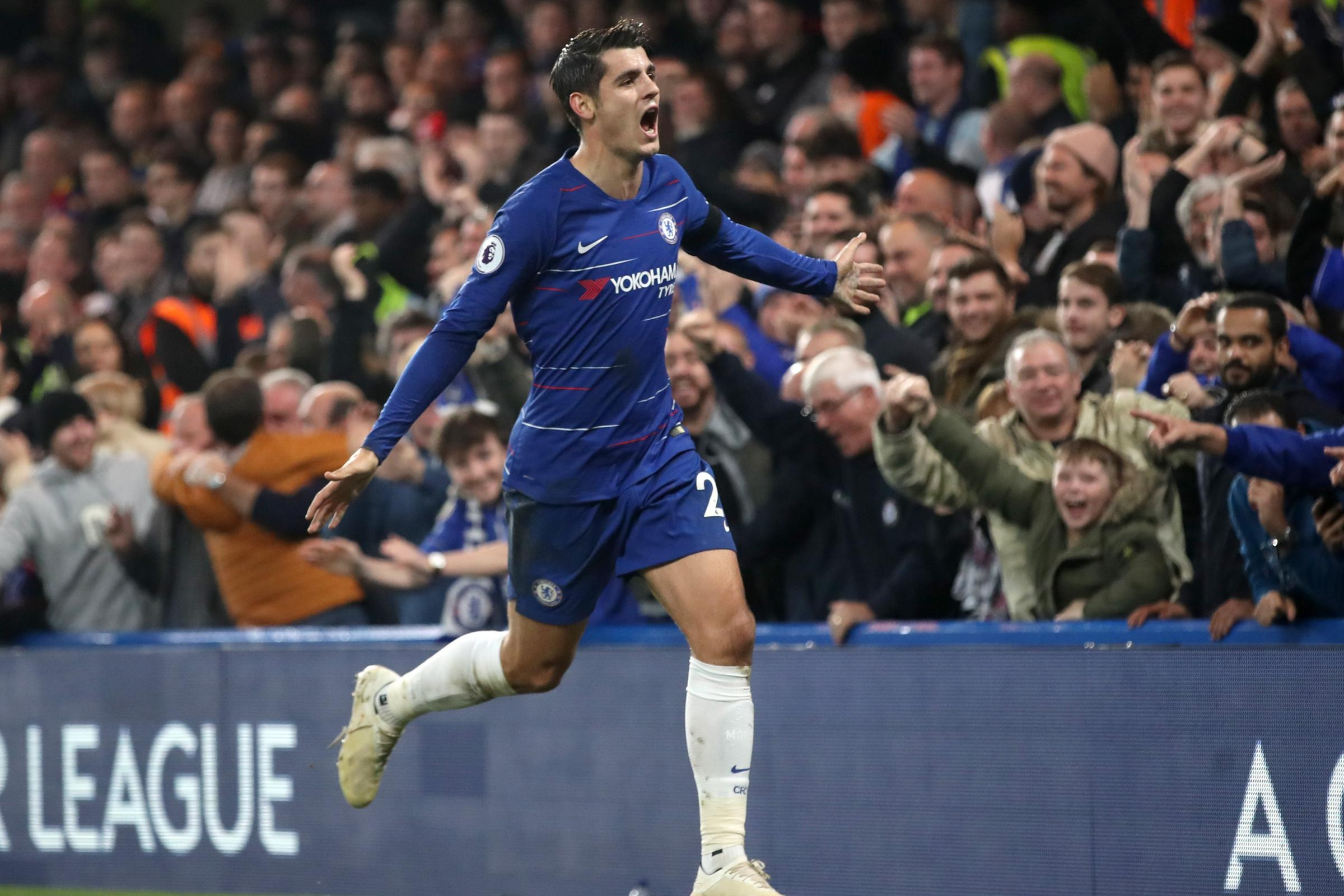 Alvaro Morata has been linked with a return to Spain