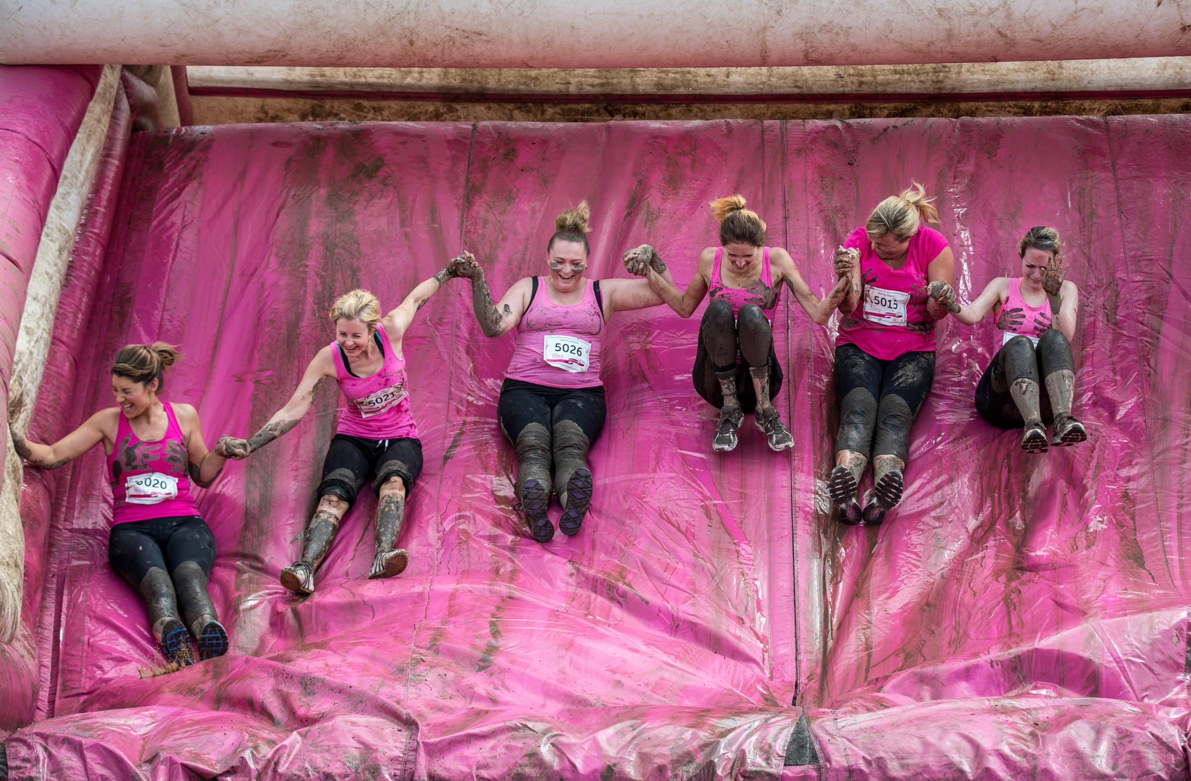 Enfield Race for Life Pretty Muddy 5k and Kids