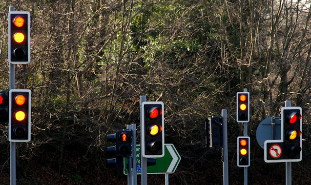 Traffic lights are hindering progress in several London boroughs