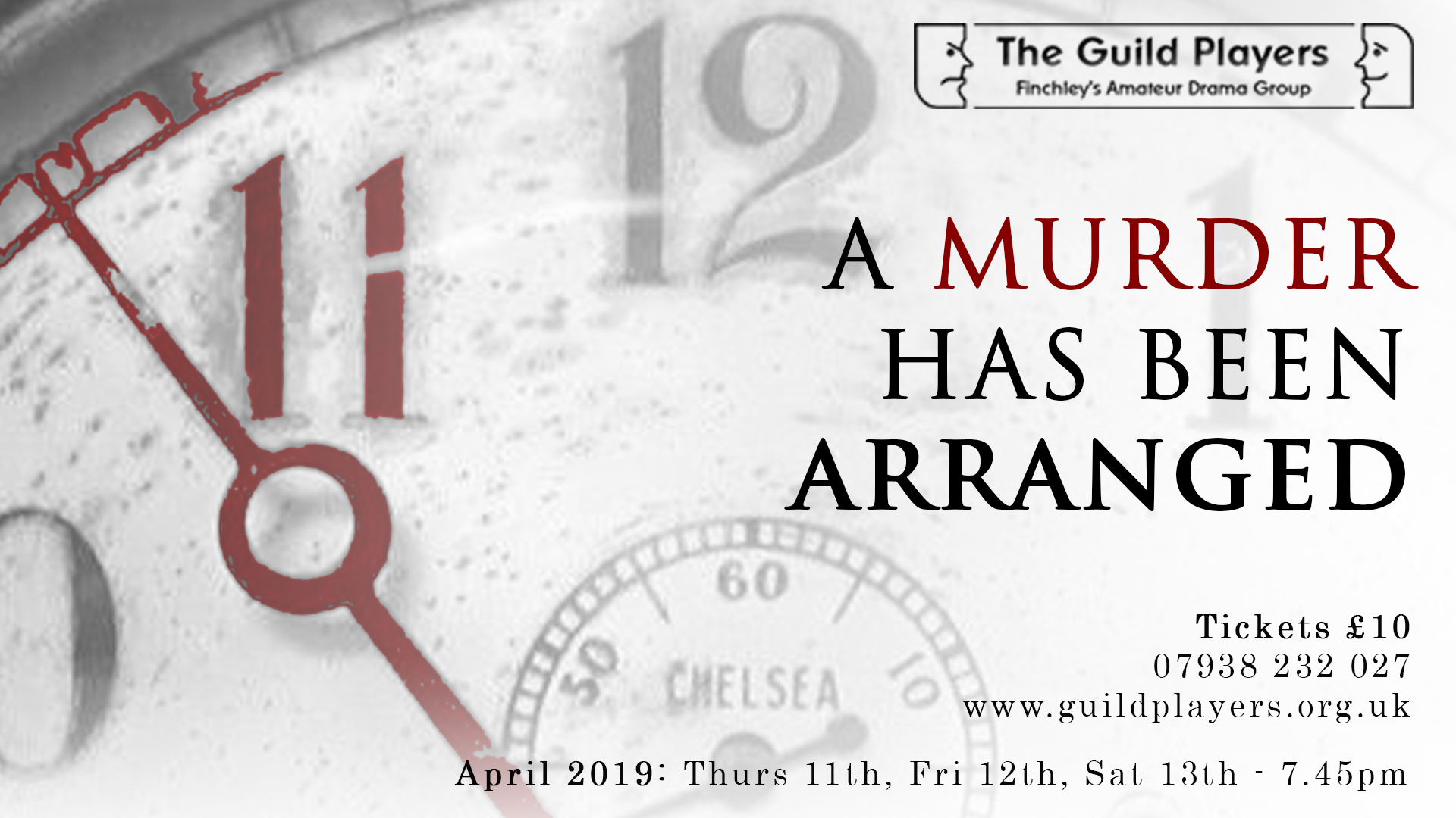 'A Murder Has Been Arranged - a play by Emlyn Williams
