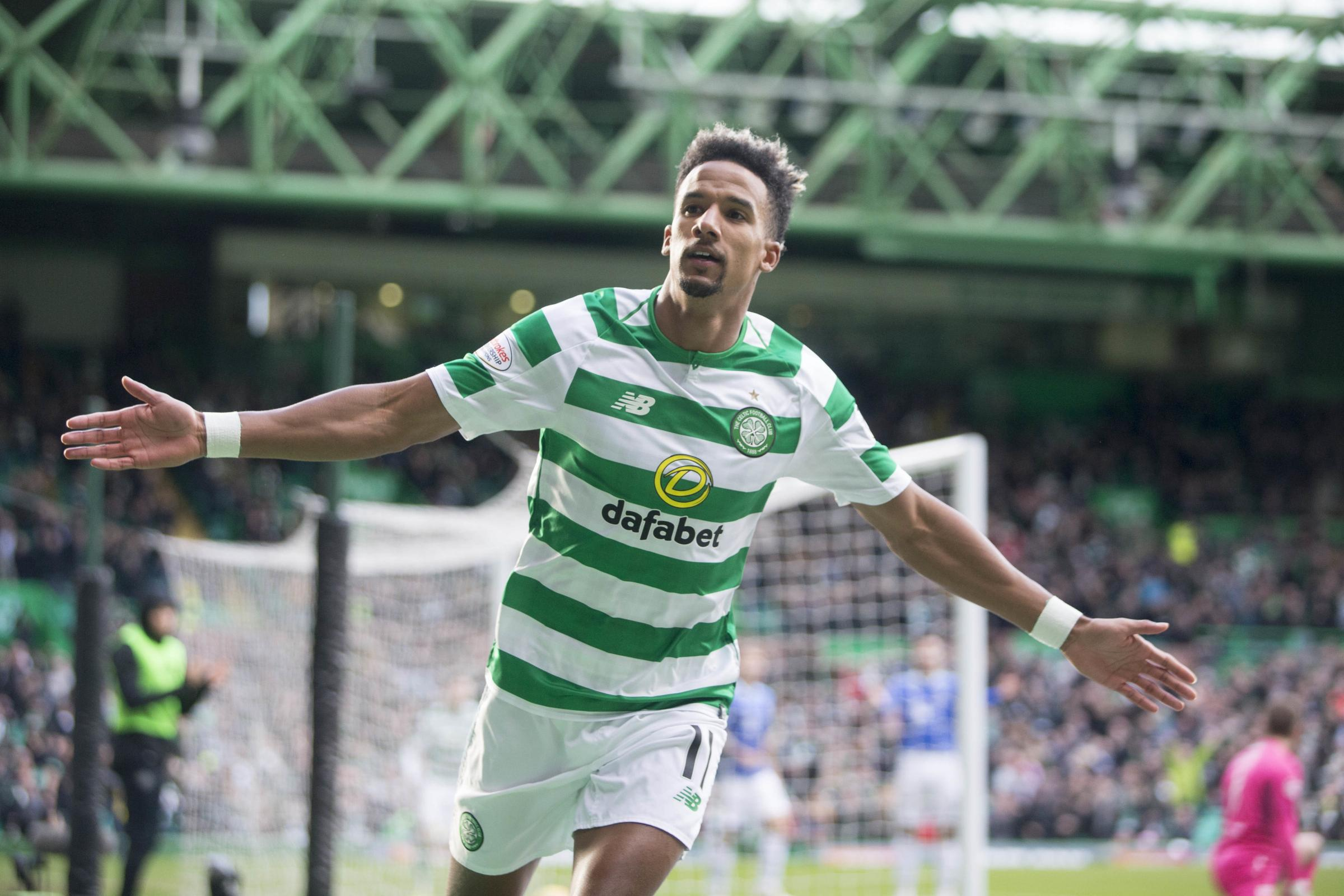 Scott Sinclair scored a hat-trick as Celtic cruised to a Scottish Cup win over St Johnstone