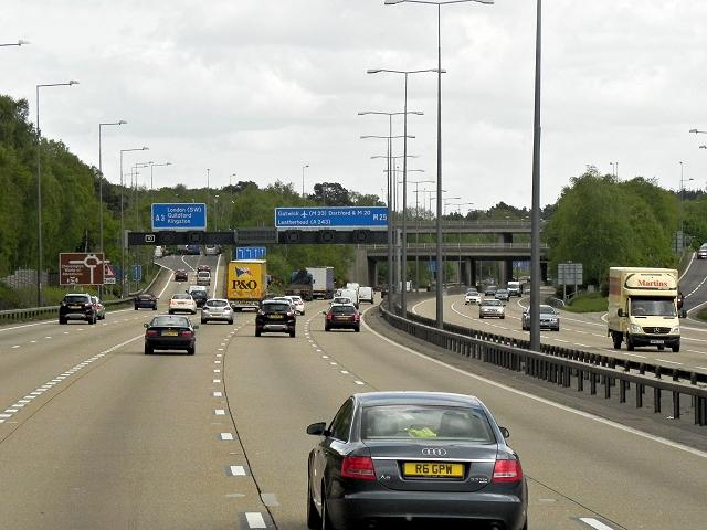 Minor delays reported on the M25 both directions this morning