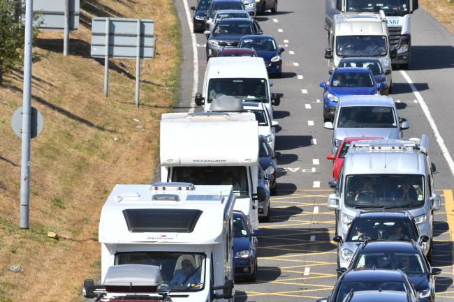 Expect travel congestion on the M25 and M1 today
