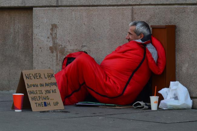 There were almost 9,000 rough sleepers in London last year.