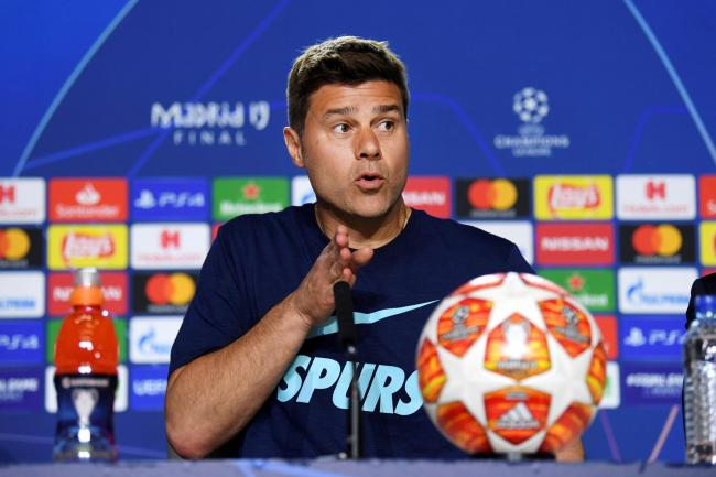 Mauricio Pochettino is hoping Spurs connect with a 'superior energy'. Picture: Action Images