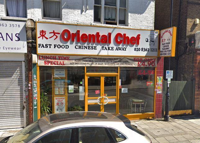 Oriental Chef in London Road. Photo: Google